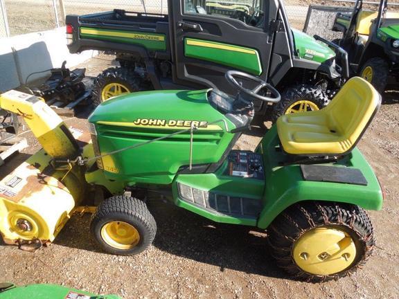 John Deere 345 >> 1998 John Deere 345 Lawn Garden Tractors John Deere Machinefinder