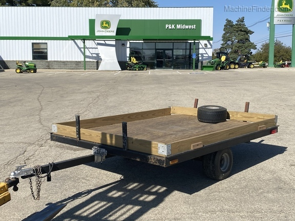 1976 John Deere Snowmobile Trailer Image 1