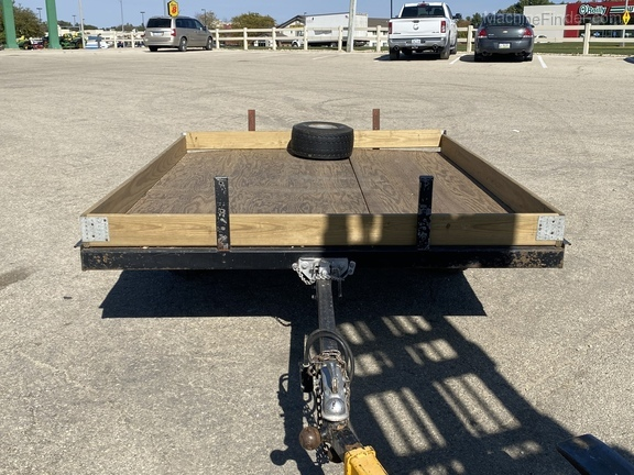 1976 John Deere Snowmobile Trailer Image 2
