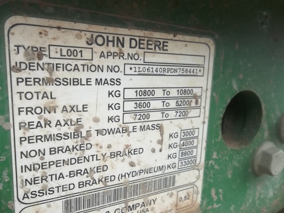 John Deere 6140R Premium
