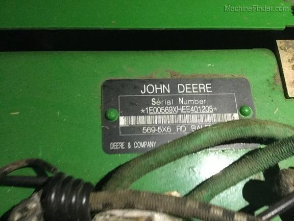 2014 John Deere 569
