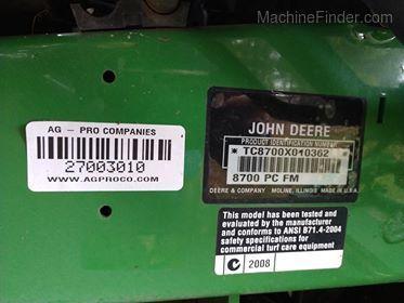 2006 John Deere 8700