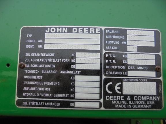 John Deere 7200 RHA
