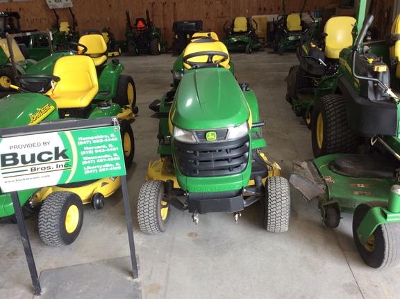 2011 john deere x300  lawn  garden tractors  john deere