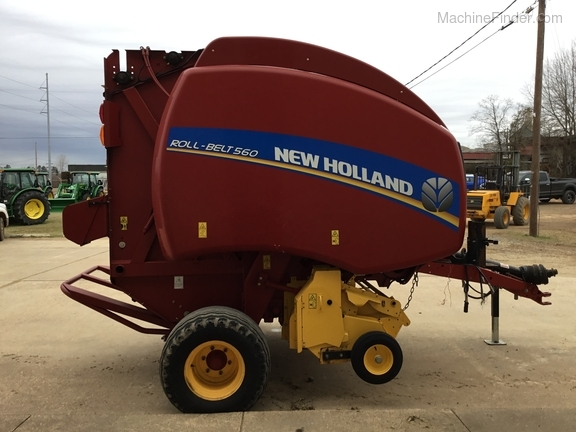 2014 New Holland 560 Roll Belt Image 6