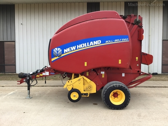 2014 New Holland 560 Roll Belt Image 1