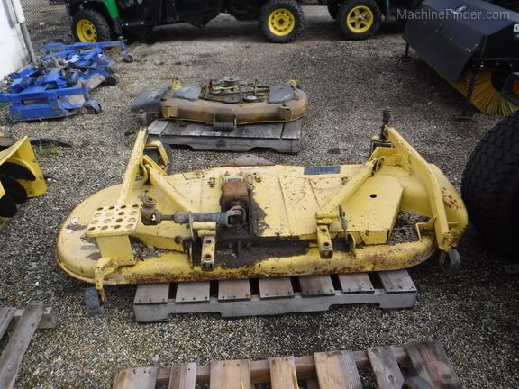 """John Deere 72"""" DECK FOR FRONT MOUNT MOWER"""