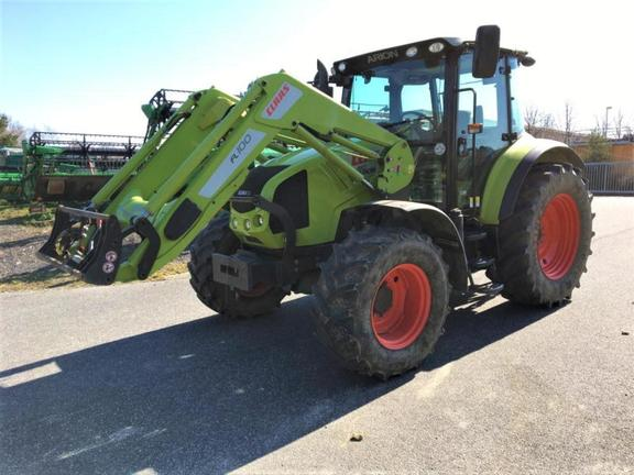 Claas ARION 410 MIT FRONTLADER