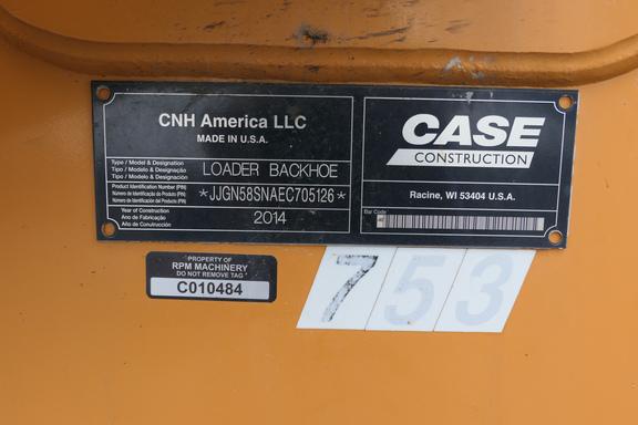 2014 Case 580 SUPER N-29