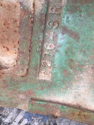 John Deere R27643 front pad weight