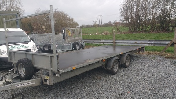 Ifor Williams LM187 Flat