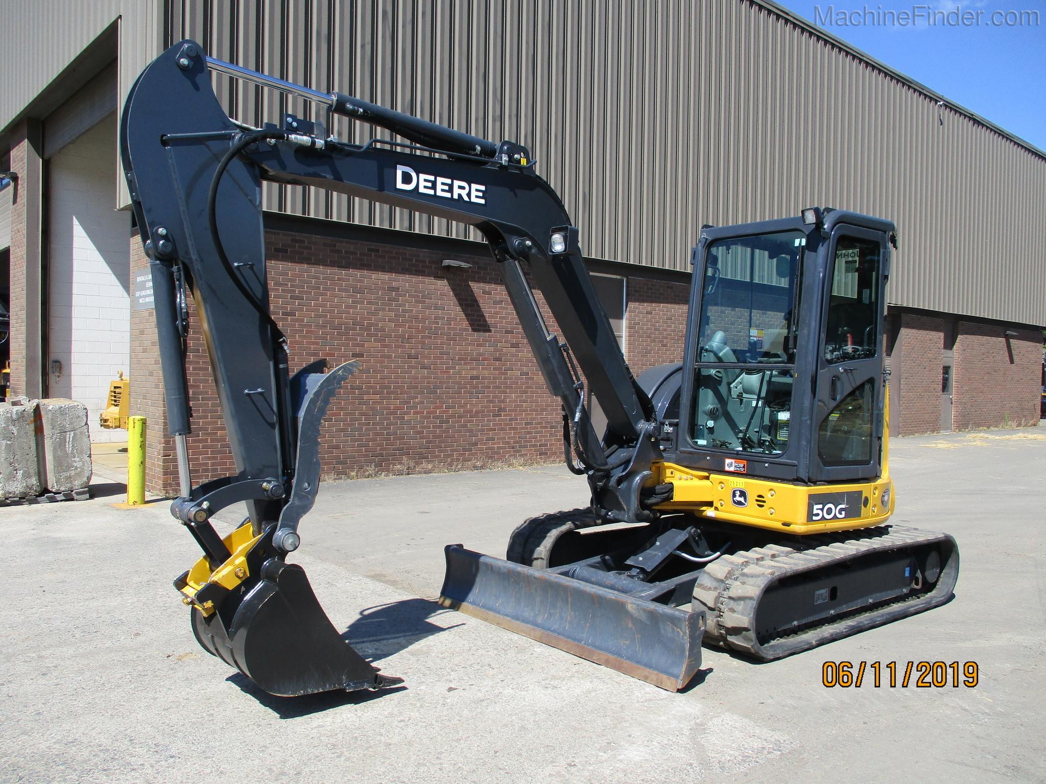 2018 John Deere 50g Compact Excavators John Deere Machinefinder