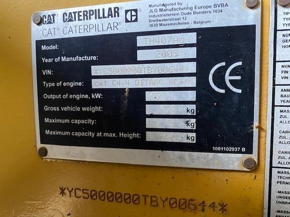Caterpillar TH407