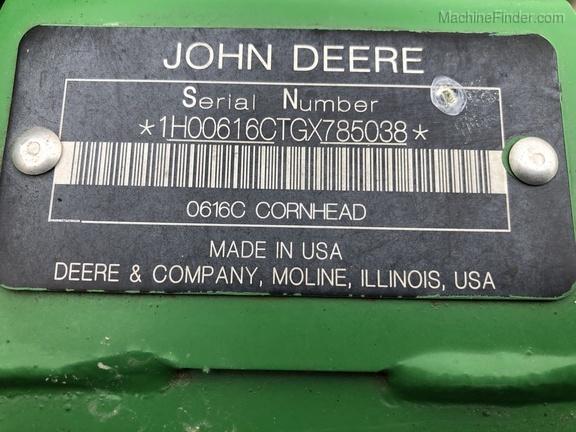 Photo of 2016 John Deere 616C