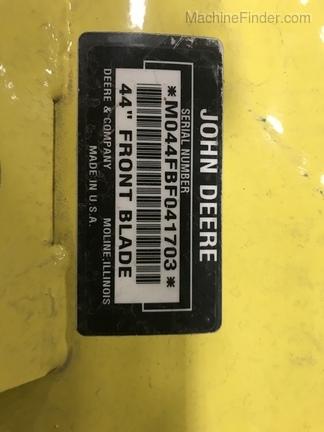 John Deere 44 Front Blade