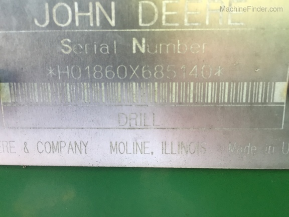 2000 John Deere 1860