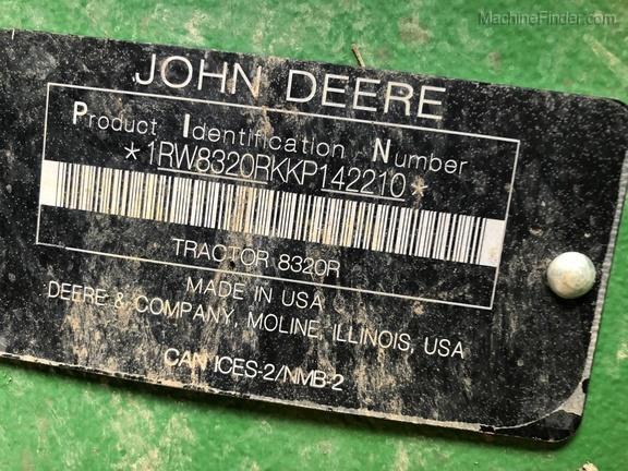 Photo of 2019 John Deere 8320R