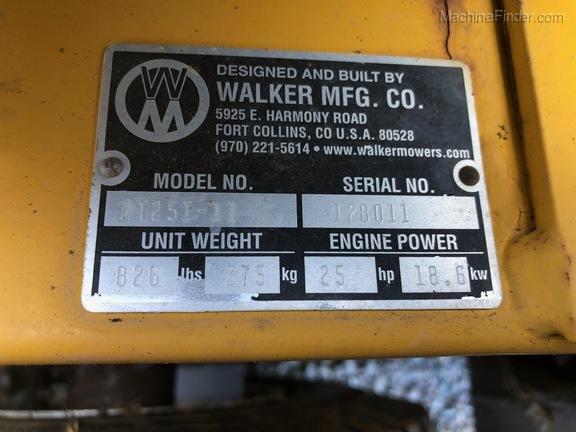 2014 Walker MT25I