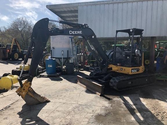 Pre-Owned John Deere 50G in Plant City, FL Photo 1