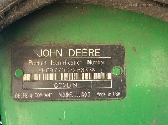 2008 John Deere 9770 STS