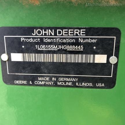 Photo of 2017 John Deere 6155M