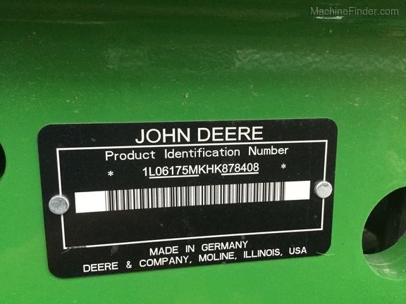 2017 John Deere 6175M