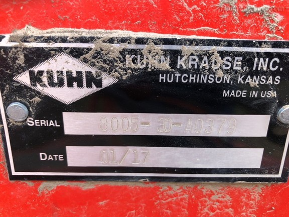 2017 Kuhn Krause 8005-10