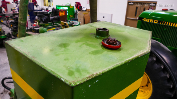 1989 Custom 40 Gallon Front Fuel Tank from JD 4850-9