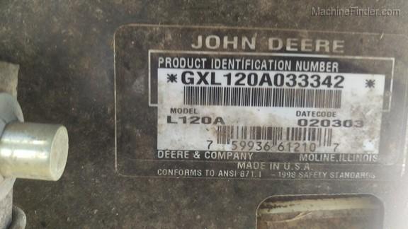 John Deere L120