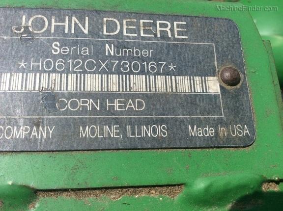 Photo of 2009 John Deere 612C