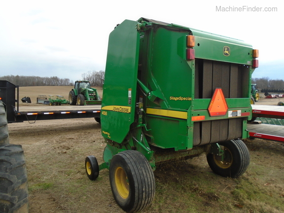 2012 John Deere 458 Silage Special Image 3