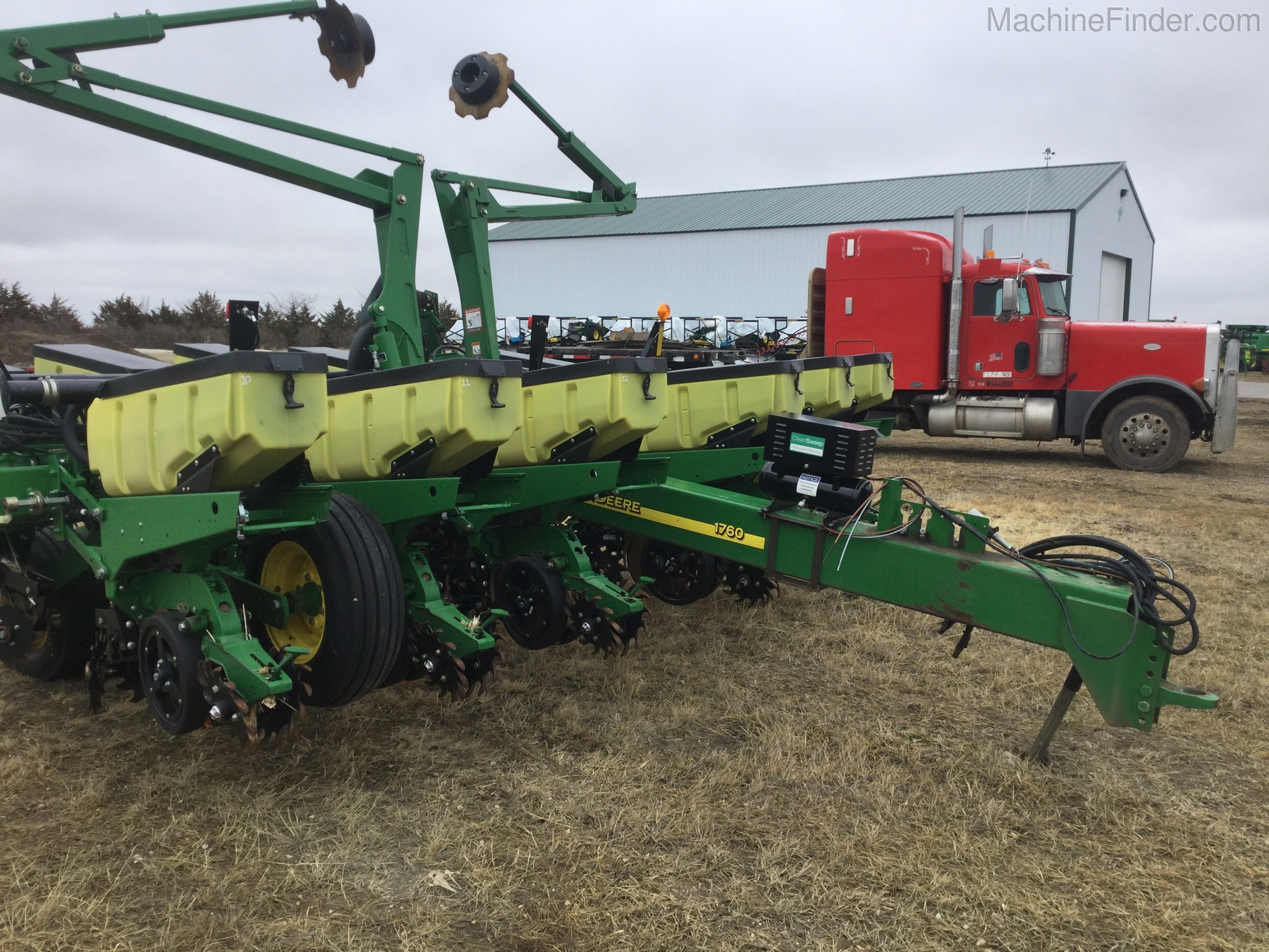 2012 John Deere 1760 Planters Drawn John Deere Machinefinder