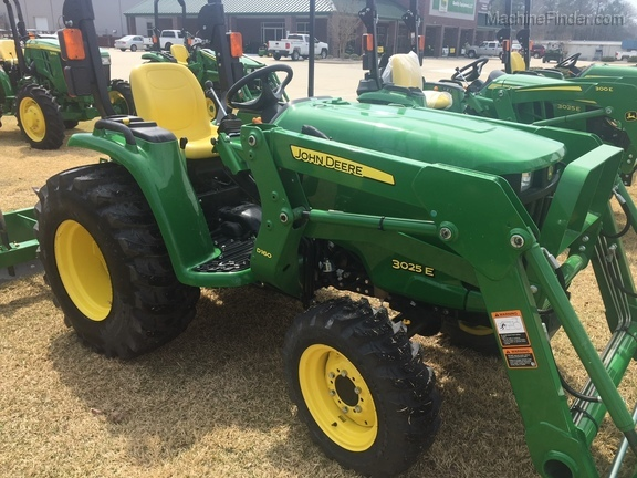 2017 John Deere 3025e Compact Utility Tractors Fuquay