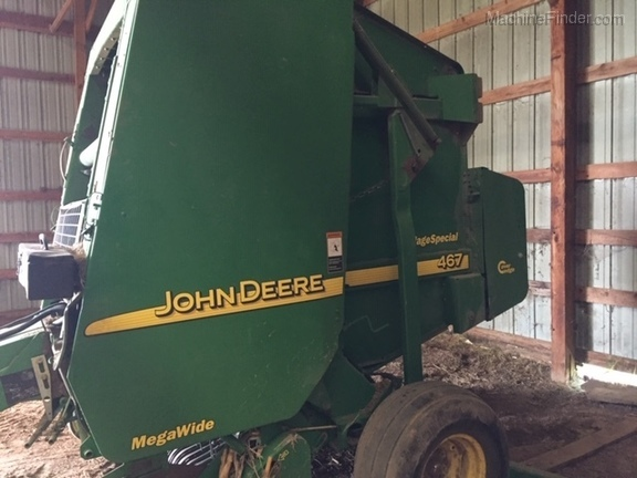 Tractor Central - 2003 John Deere 467 Silage Special