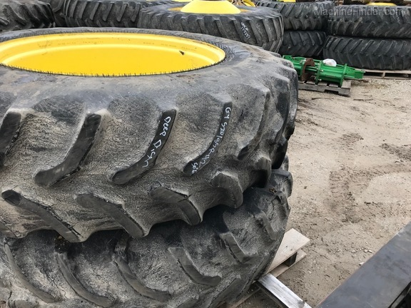 John Deere GY 520/85R42 TRACTOR DUAL WHEELS & TIRES