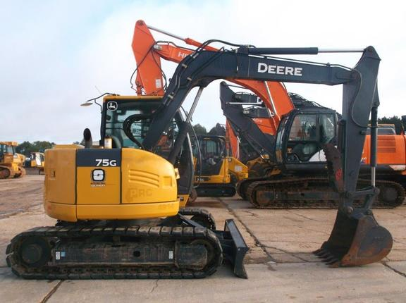 2014 John Deere 75G - Excavators - John Deere MachineFinder