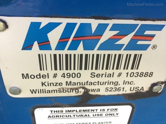 2014 Kinze 4900