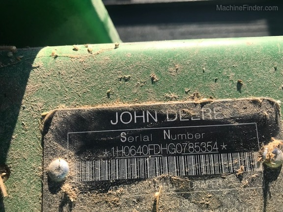 Photo of 2016 John Deere 640FD