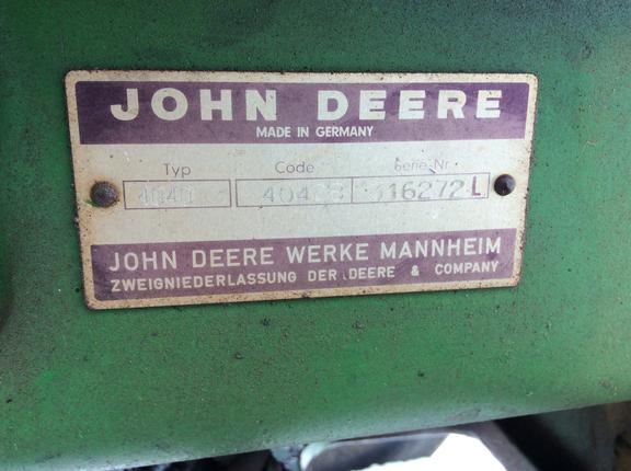 John Deere 4040 ST