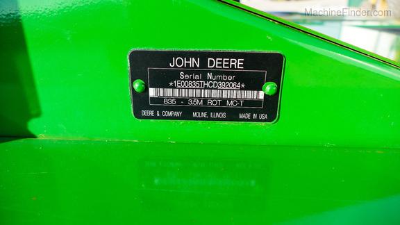 2013 John Deere 835-17