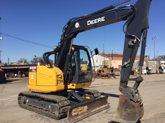 2017 John Deere 75G - Excavators - John Deere MachineFinder
