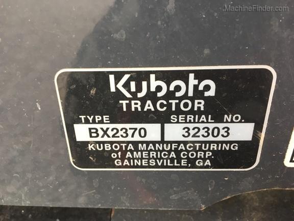 Photo of 2015 Kubota BX2370