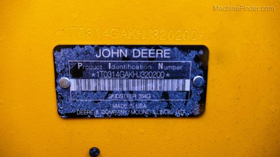 2018 John Deere 314G-14