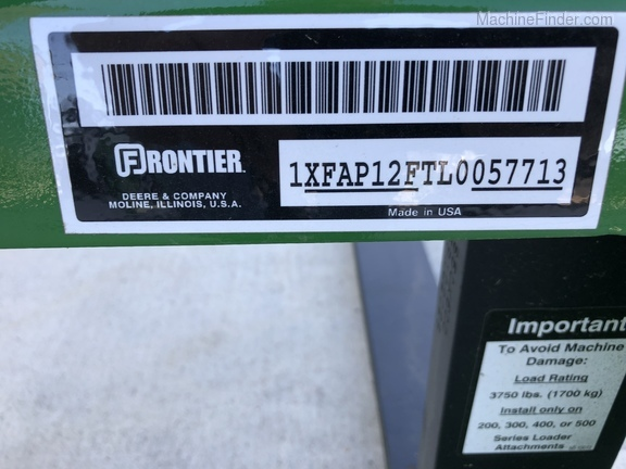 2020 Frontier 12FT Image 3