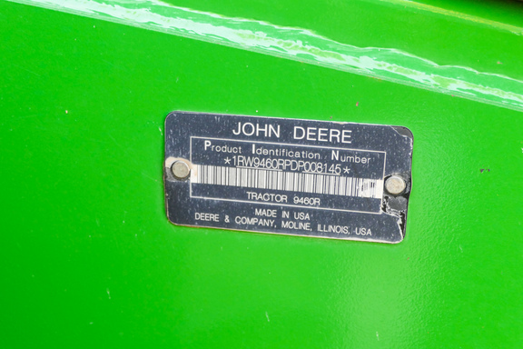 2013 John Deere 9460R-6