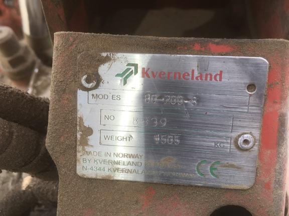 Kverneland ES -80-8