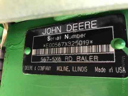 2006 John Deere 567 - Round Balers - John Deere MachineFinder