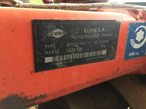 Photo of 2004 Kuhn GF5001