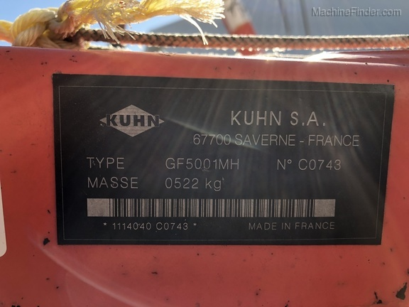 Photo of 2004 Kuhn GF5001
