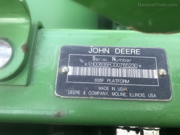 Photo of 2014 John Deere 635F